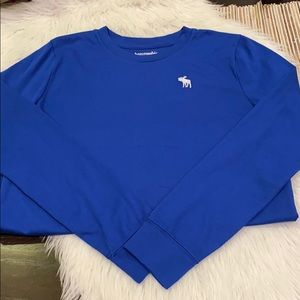 AF Kids Blue Long Sleeve Moose Logo Tshirt